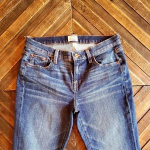 J.Crew Broken In Boyfriend Jeans